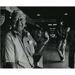 1978 Press Photo Ed Walloch, unofficial mayor- Southgate Shopping Center