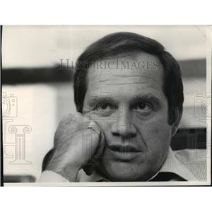 1974 Press Photo Alan King, comedian/producer, in his office - mjp00730