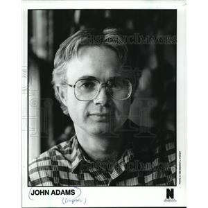 1988 Press Photo John Adams, composer - mjp00949