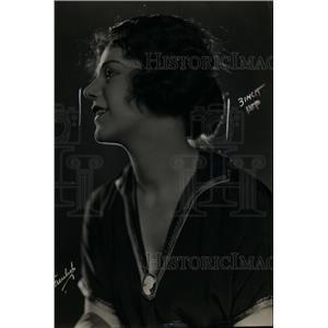 1921 Press Photo American actress Mabel Julienne Scott of Universal Studios
