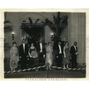 1921 Press Photo Attendees at Pan American Union Reception - ney14859