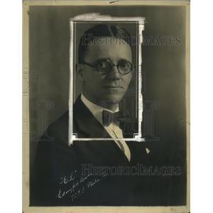 1924 Press Photo Edlmyfed Lewis Radio Personality - ney17301