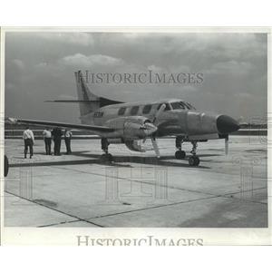 1973 Press Photo The Merlin III, a new executive turboprop - mja04020