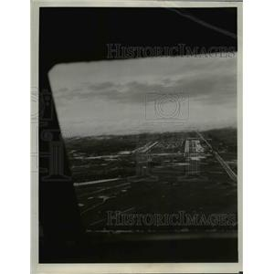 Press Photo View from United Airlines DC-8 Over Bangkok, Thailand - nef02320
