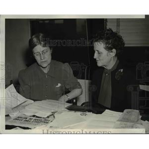 1940 Press Photo Members Association of Southern Women for Lynching Prevention
