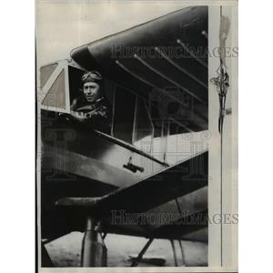 1930 Press Photo Reverend George Feltes Pilot For Alaskan Mission - nef10783