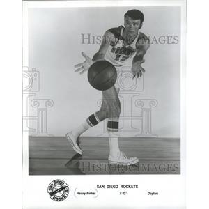 1970 Press Photo Henry Finkel 7-0 Dayton Ohio - San Diego Rockets/ - mjs03962
