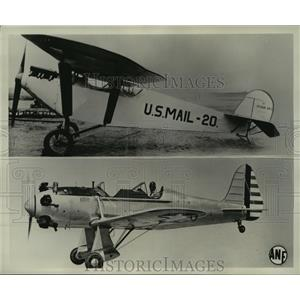 1941 Press Photo Ryan M-l vintage of 1926 & low-wing monoplane trainer