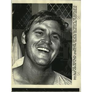 1971 Press Photo Denny McLain, who made his Washington debut 4/9, is all smiles.