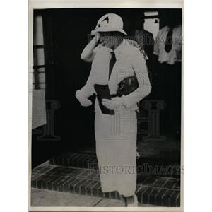 1933 Press Photo Betty Deeds, Wife of Captain Edward F.M. Deeds in Kansas City