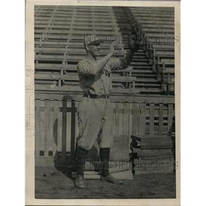1923 Press Photo Tom McNamara, left fielder, Princeton University