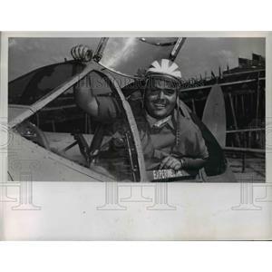 1948 Press Photo Pilot Jack Hardwick - nef38715