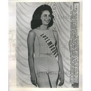 1963 Press Photo Catherine Paulus - RRR54613