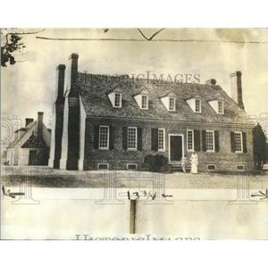 1934 Press Photo George Washington Great Britain Americ - RRR80603