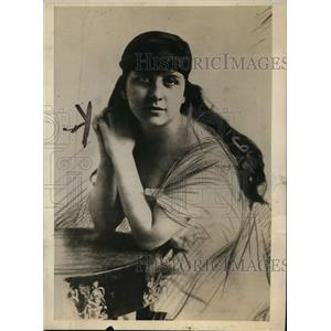 1919 Press Photo Charlotta Orlando, Daughter of Italian Ex-Premier - nef36861