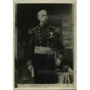 1918 Press Photo French general St. Claire Deville - nef39270