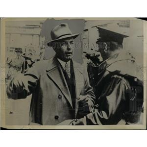 1934 Press Photo Alfred Frauenfeld - nef39031