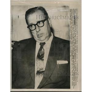 1957 Press Photo Virgil T. Blossom of Little Rock Integration Case - nef47437