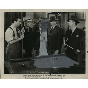 1940 Press Photo Actor Jack Holt in The Great Plane Robbery - ney24250