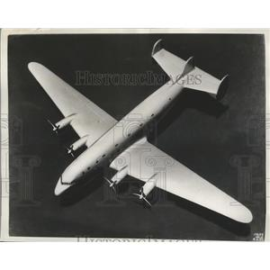 1930 Press Photo Douglas DC-4 Skyliner to be Flown in Santa Monica California