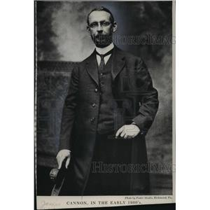 1900 Press Photo 1990's Era Photo of James Cannon Junior-Saloon League Head