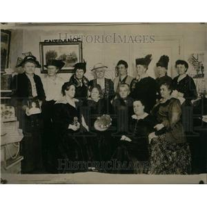 1916 Press Photo Women Club Civil War Henry Worth Grant - RRU26731