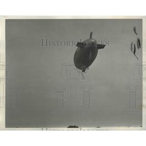 1932 Press Photo Goodyear Blimps Airship - nef65635