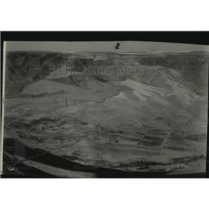 1931 Press Photo Lewiston Hill aerial view - spa51744
