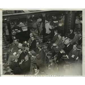 1931 Press Photo New York Emergency Unemployed Committee NYC - neny17736