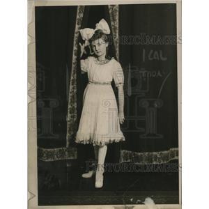 "1917 Press Photo Ethel Weed Mick ""Mother"" of Junior Red Cross - neo14110"