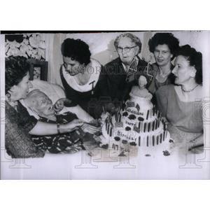 1959 Press Photo Gen. Walter Williams 117th birthday - RRX54123