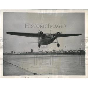 1947 Press Photo Cargo Mandie Flight Northrop Pioneer - RRX82843