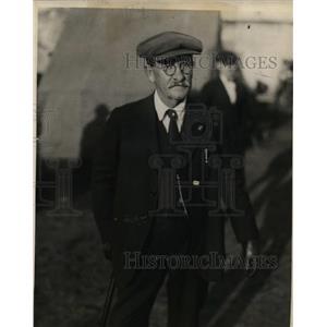 1923 Press Photo J.S. Daniels, Father of Wart Daniels, KKK Victim, Testifies