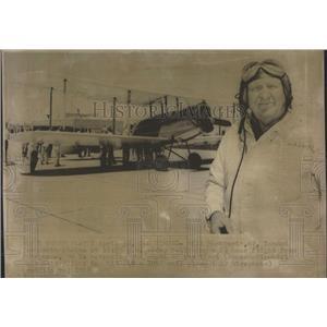 1968 Press Photo Bill Hackbarth North Platte Flight - RRX96699