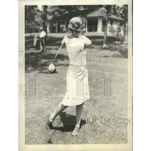 1929 Press Photo Virginia Vilas, Western Women's Champion in golf - sbs08067