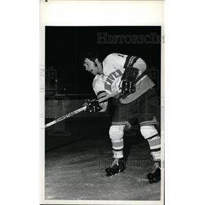 1973 Press Photo Vic Venasky Denver University ice hock - RRW73867