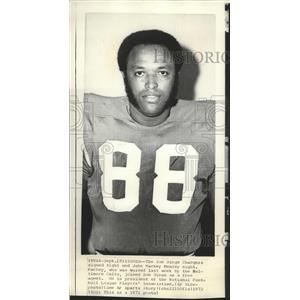 1971 Press Photo New San Diego Chargers football player, John Mackey - sps09355