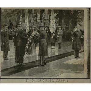 1971 Press Photo Vice President Spiro Agnew Ceremonies