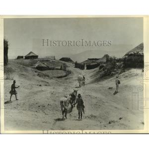 1935 Press Photo Village in Sagan Country of Sudamo Province, Ethiopia