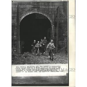 1973 Press Photo Bicycle Sparta Elroy Trail - RRW31113
