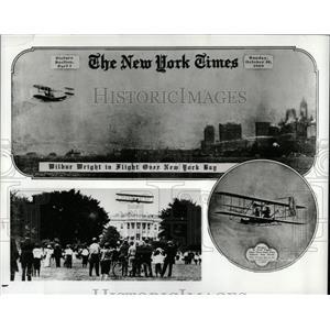 1979 Press Photo Orville Wilbur Wright flight New York - RRX75499