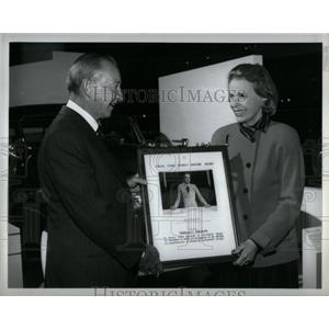 1989 Press Photo William Clay Ford Henry Ford Museum - RRX56417