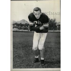1948 Press Photo Harvey Kingry Mines touchdown artist - RRW74465