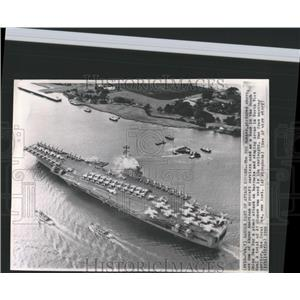 1965 Press Photo USS Ranger S CHina Sea N Vietnam - RRX98979