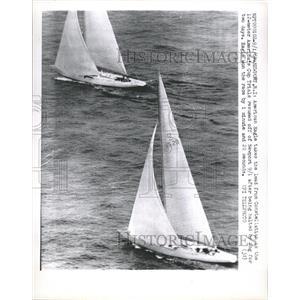 1964 Press Photo American Eagle Constellation Boat Race - RRW46165