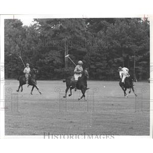 1973 Press Photo Houston Polo Club in action - hca01495
