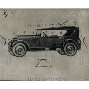 1926 Press Photo Nash-Kelvinator 1926 Automobile Model - RRX56123