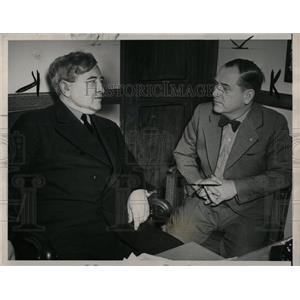 1941 Press Photo James Dewey and Harry Bennet personnel - RRW86679