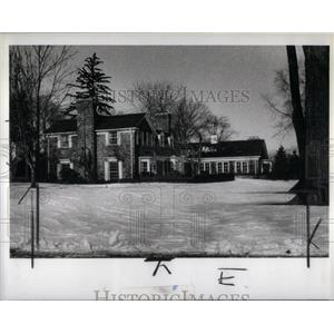 1981 Press Photo Walter Buhl Ford, Josephine Ford Home - RRX56605