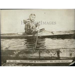 1907 Press Photo Dr. Cook/Boat - RRW78213